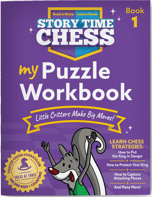 Story Time Chess Puzzle Workbook Level 1 cover