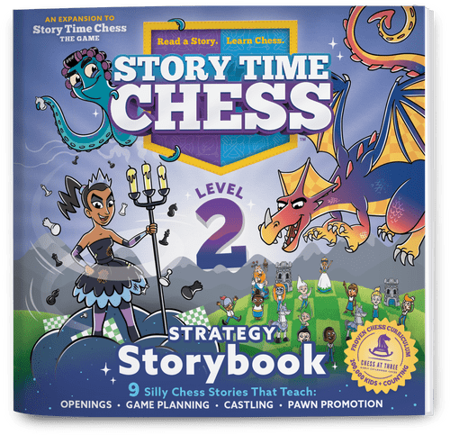 Story Time Chess Level 2 Expansion box