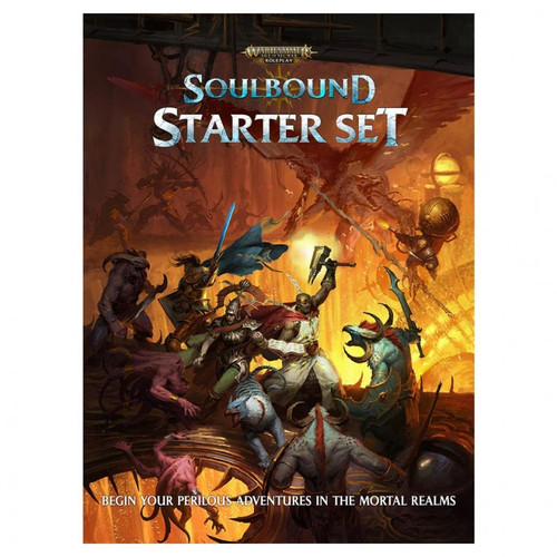 Warhammer RPG: Age of Sigmar: Soulbound Starter cover