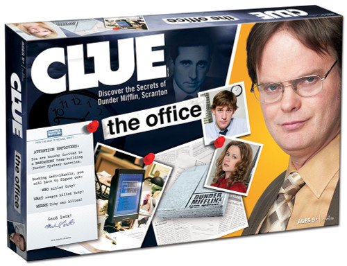 The Office Clue box