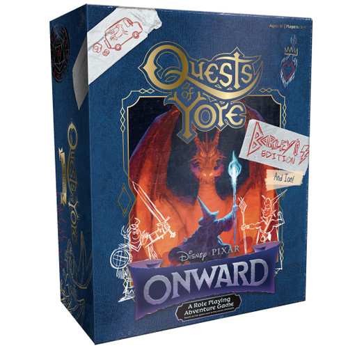 Onward: Quests of Yore, Barley's Edition–Role-Playing Adventure