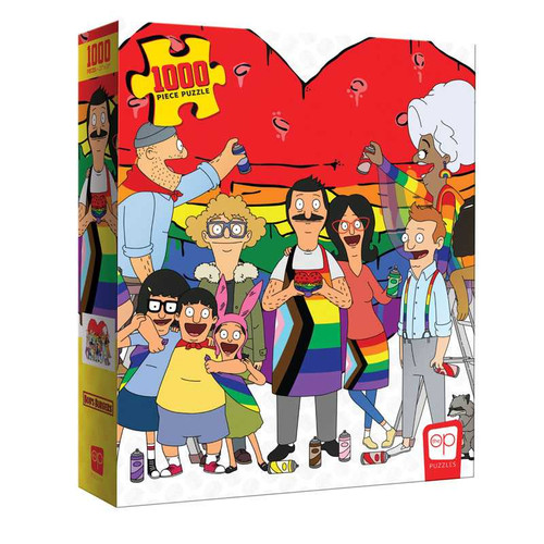 Bob's Burgers: Pride 1000pc (Sold Out)