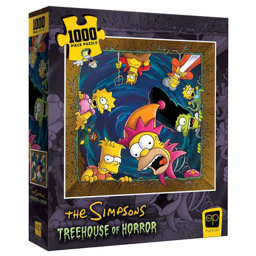 """Simpsons Treehouse of Horror, """"Happy Haunting"""" 1000pc (On Order)"""