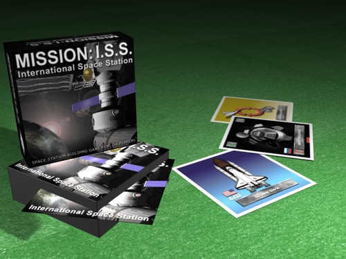 Mission I.S.S. box and sample cards