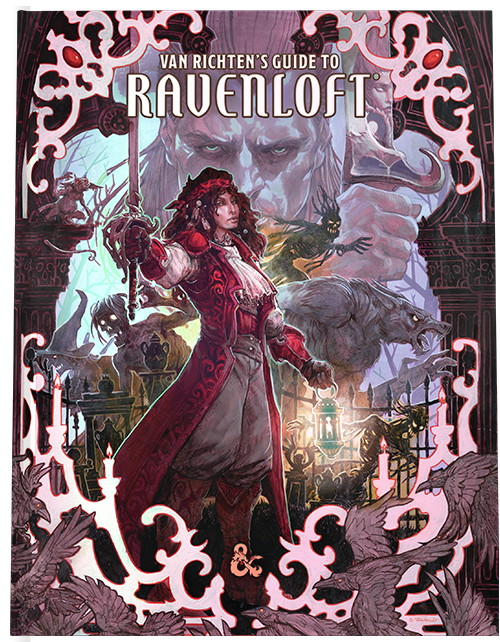 Van Richten's Guide to Ravenloft, Alternate Art Cover—Dungeons & Dragons (Pre-Order)