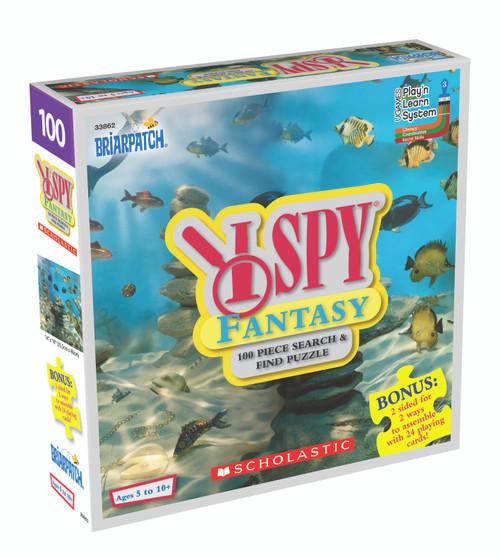 I SPY Fantasy, 100pc puzzle + activity