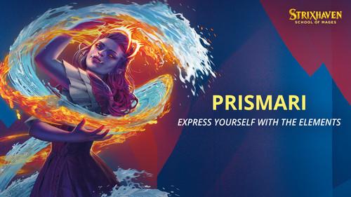 Prismari Performance Commander Deck, Strixhaven—Magic the Gathering (Pre-Order) (Sold Out)