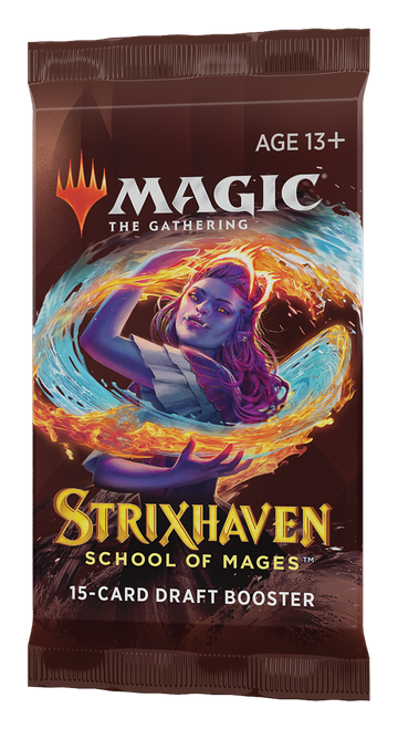 Draft Booster, Strixhaven—Magic the Gathering