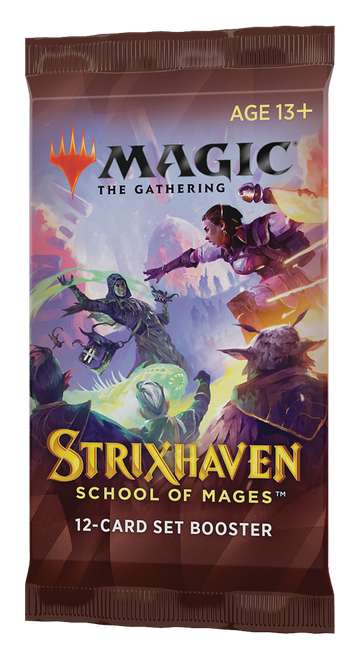 Set Booster, Strixhaven—Magic the Gathering (Pre-Order)