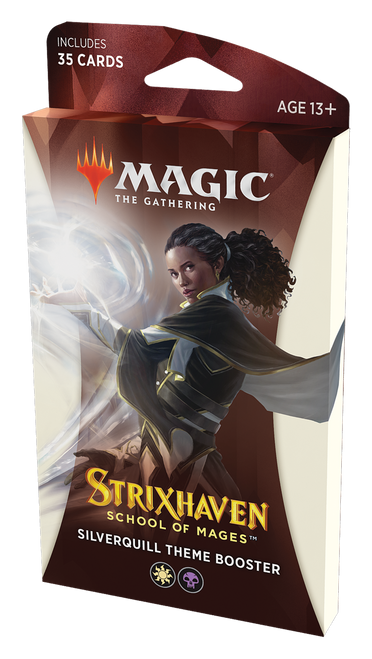 Theme Booster, Strixhaven—Magic the Gathering (1 of 5 Variants) (Pre-Order)
