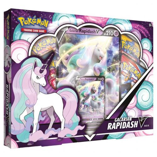 Galarian Rapidash V Box—Pokemon TCG (Allocated)