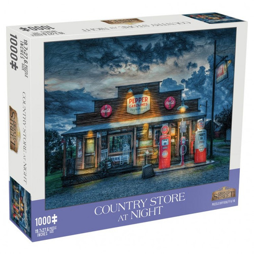 Country Store At Night 1000pc
