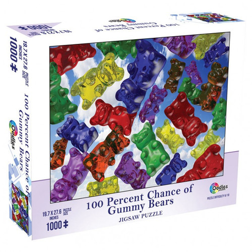 100% Chance of Gummy Bears 1000pc