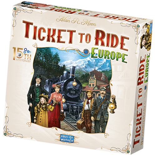 Ticket to Ride: Europe 15th Anniversary (Pre-Order)