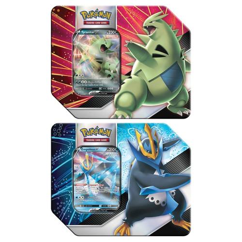 V Strikers Tin - Pokemon TCG (1 of 2 Variants) (Allocated) (On Order)