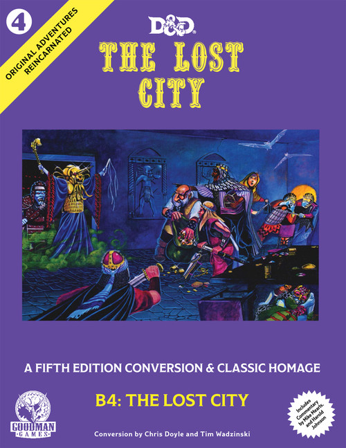 The Lost City - Original Adventures Reincarnated #4 (Sold Out)