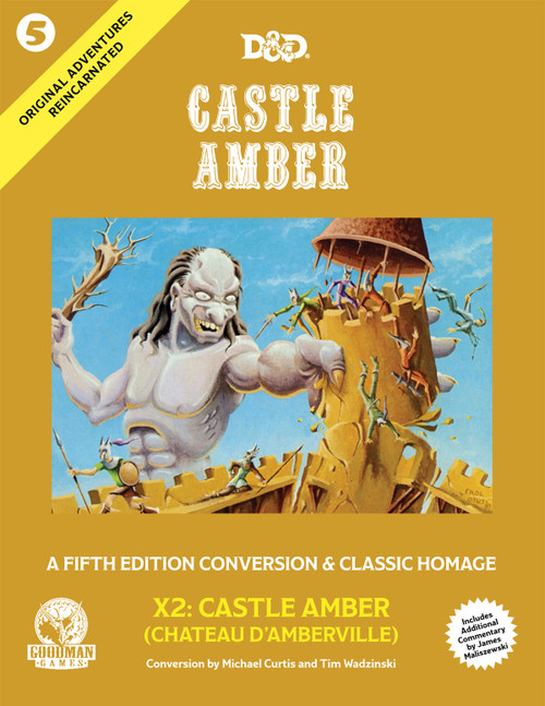 Castle Amber - Original Adventures Reincarnated #5 (Sold Out)