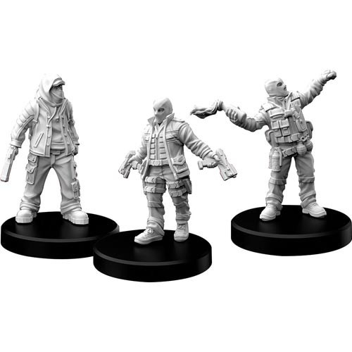 Cyberpunk Red Miniatures: Combat Zoners, Punks (Sold Out)
