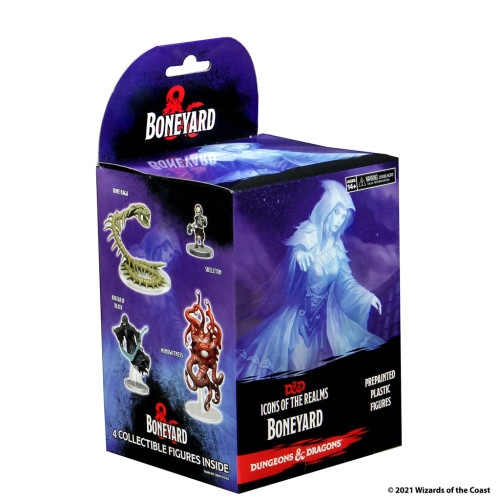 Boneyard Pre-painted Miniatures Booster—Icons of the Realms