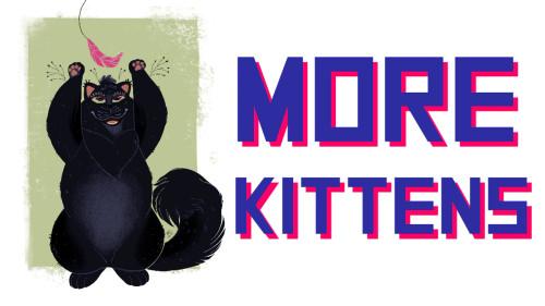 Laser Kittens: More Kittens