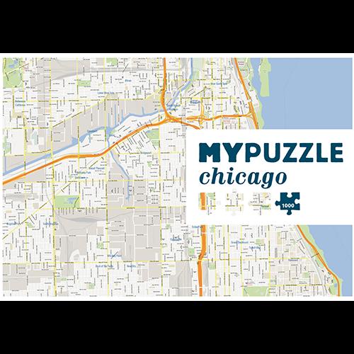MYPUZZLE Chicago 1000pc