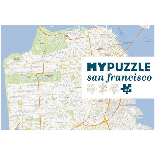 MYPUZZLE San Francisco 1000pc