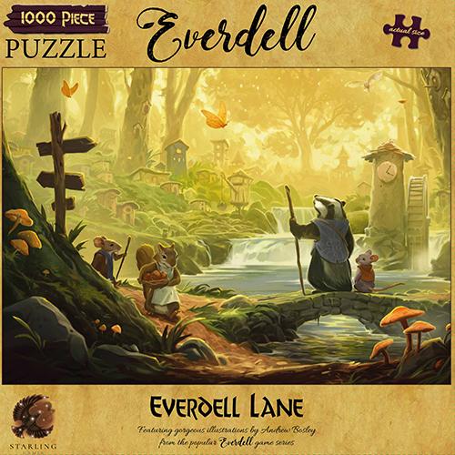 Everdell Lane Puzzle 1000pc