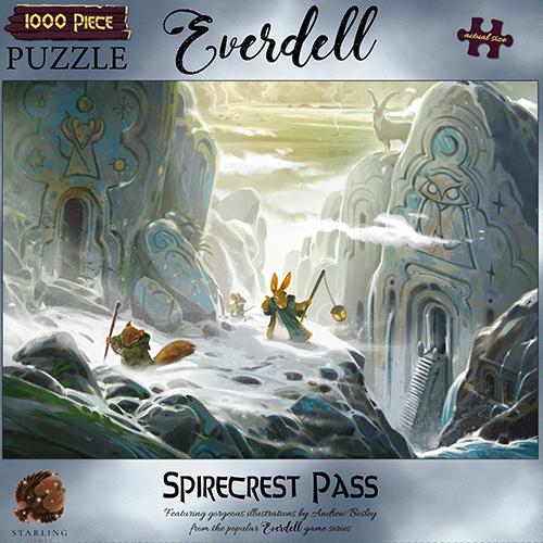 Everdell Spirecrest Pass 1000pc