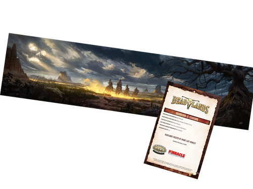 Deadlands: The Weird West, GM Screen & Shadow at Sundown Adventure—Savage Worlds (Sold Out)