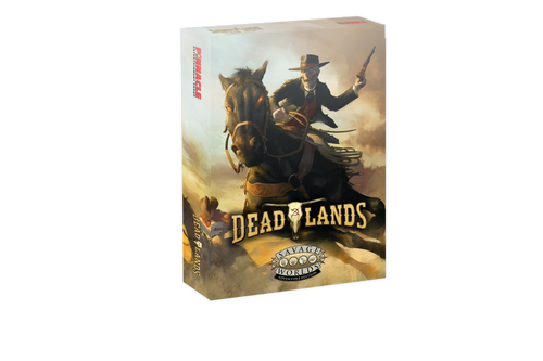 Deadlands: The Weird West Boxed Set—Savage Worlds (Sold Out)