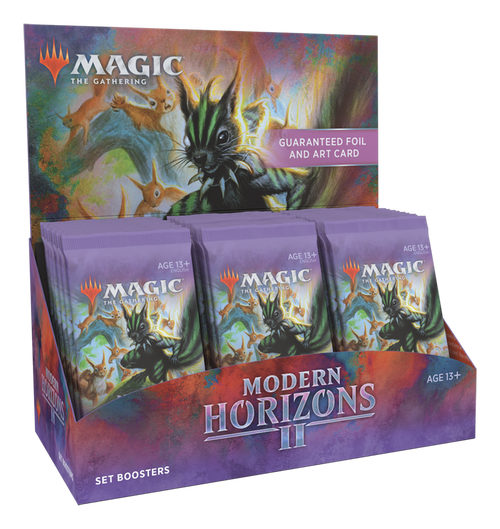 Set Booster, Modern Horizons 2—Magic the Gathering (Allocated)