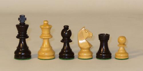"3.5"" King Black/Boxwood, German Knight"