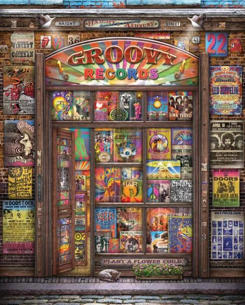 Groovy Records 1000pc