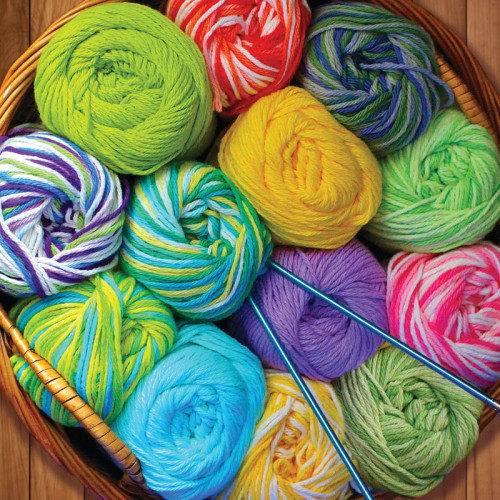 Colorful Yarn 500pc