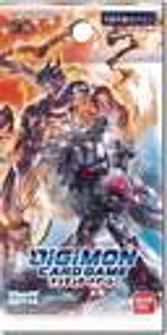 Double Diamond, Booster-Digimon TCG