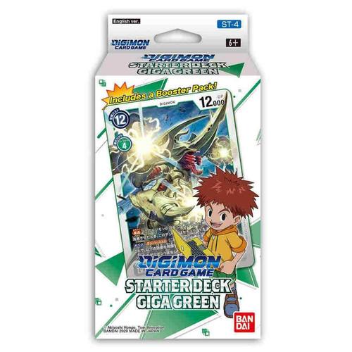 Giga Green, Starter—Digimon TCG (Sold Out)