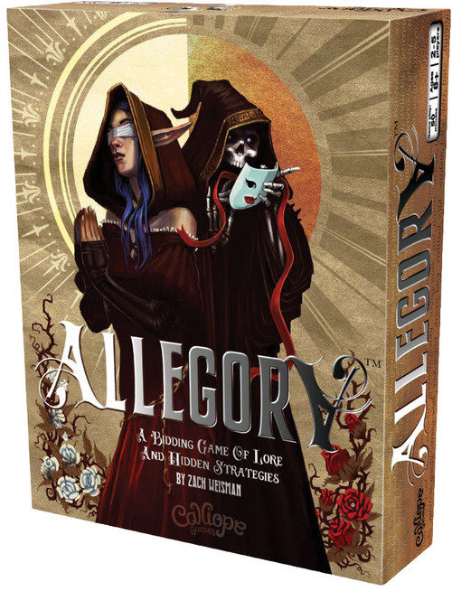 Allegory bidding tale creation game