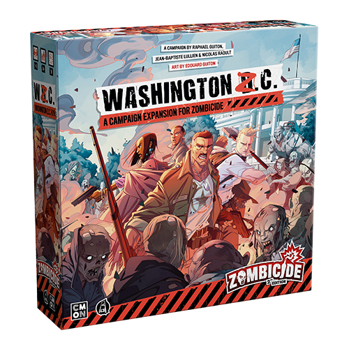 Zombicide 2nd Edition: Washington Z.C. (Expansion) (Sold Out)