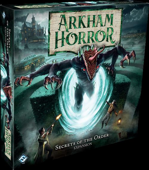 Arkham Horror: Secrets of the Order (Expansion)