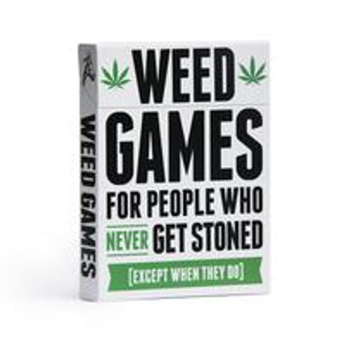 Weed Games box front