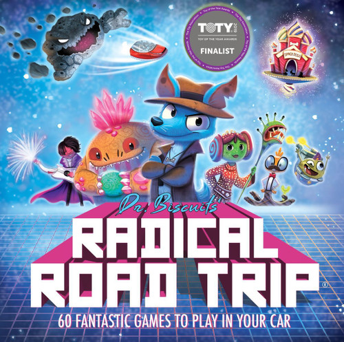 Dr. Biscuits' Radical Road Trip box