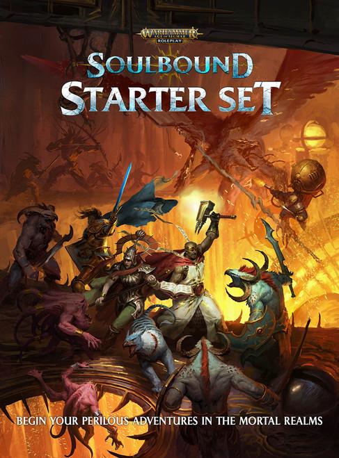 Warhammer Age of Sigmar RPG—Soulbound Starter (Sold Out)