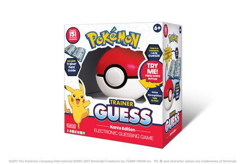 Pokemon Trainer Guess: Kanto Edition (Pre-Order)