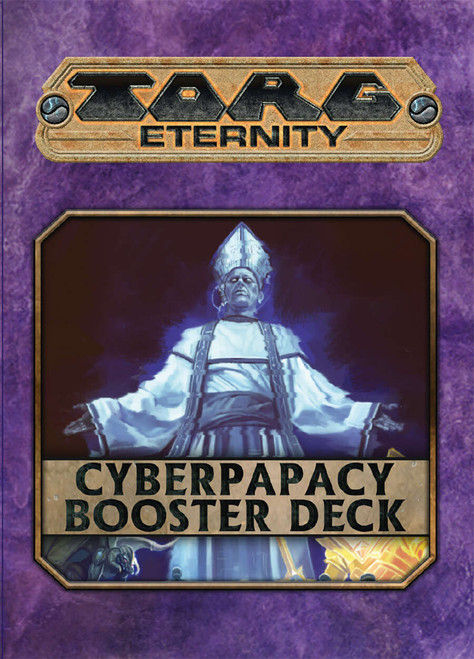 Torg Eternity: Cyberpapacy Booster Deck (Sold Out)