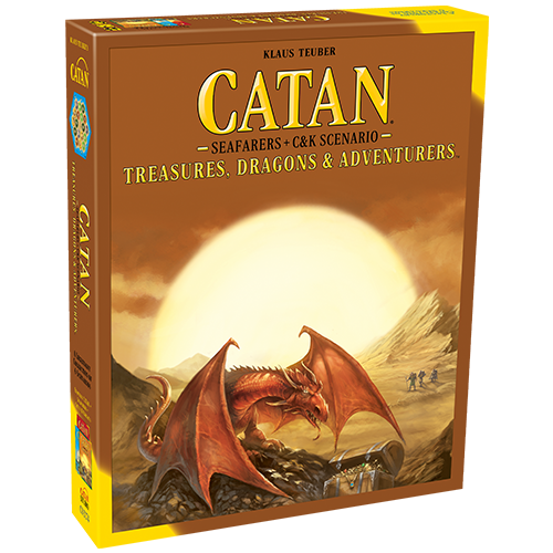 CATAN: Treasures, Dragons, & Adventurer