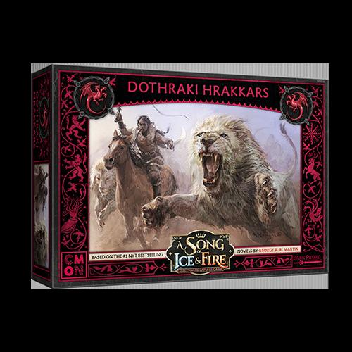 Targaryen Dothraki Hrakkers—A Song of Ice & Fire (Pre-Order) (Sold Out)