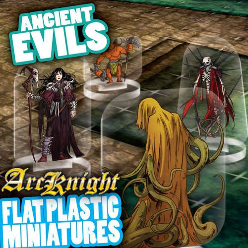 Ancient Evils 62pc—Flat Plastic Minis