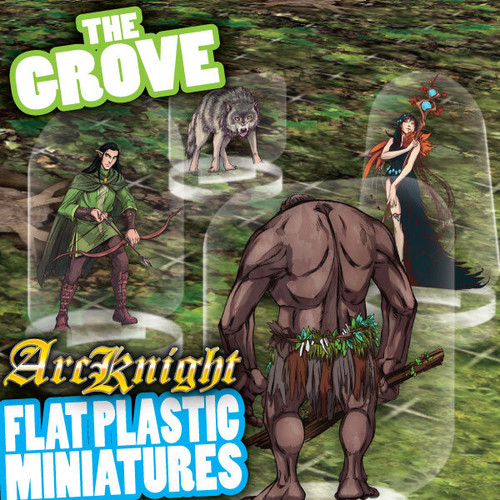 The Grove 62pc—Flat Plastic Minis