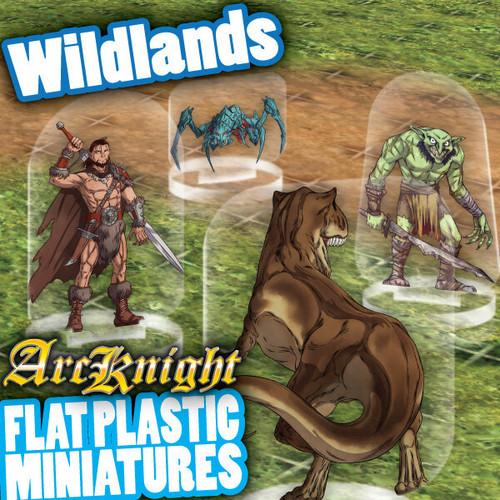 The Wildlands 62pc—Flat Plastic Minis
