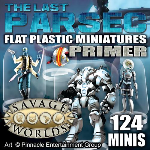 Last Parsec Primer 124pc—Flat Plastic Minis (Sold Out)
